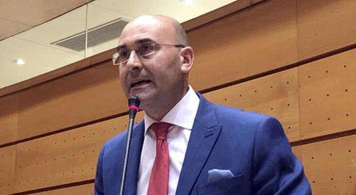 Jesus Manuel Alonso, senador agredeño del PSOE.