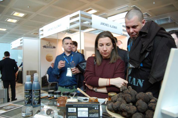 La trufa y la micologia soriana están presentes cada año en Madrid Fusión. /DIP.