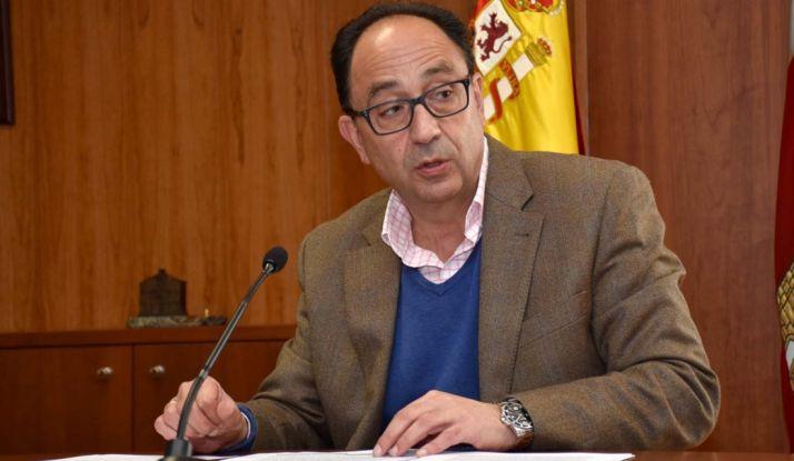 Manuel López, delegado territorial de la Junta en Soria, este martes. /Jta.