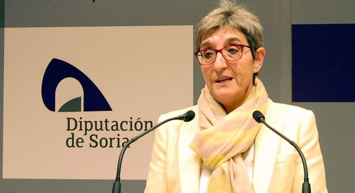 Pilar Delgado, diputada de Servicios Sociales.