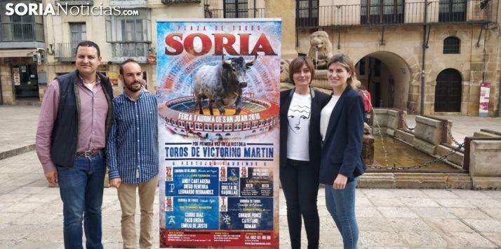 El joven equipo de Tauroemoción en Soria