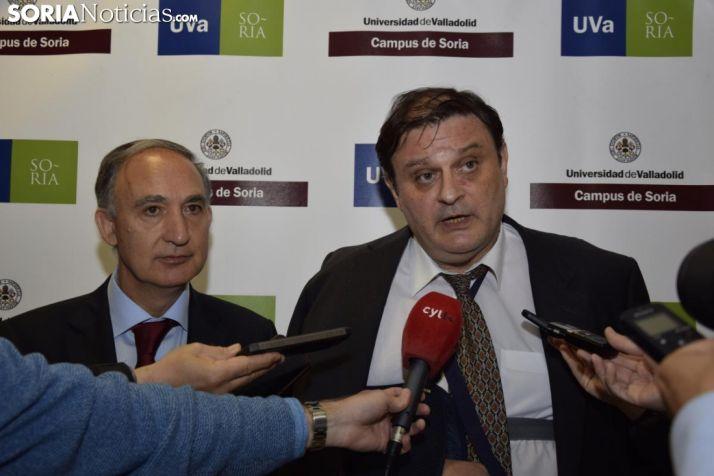 Nombramiento vicerrector en la UVA / José Herrero