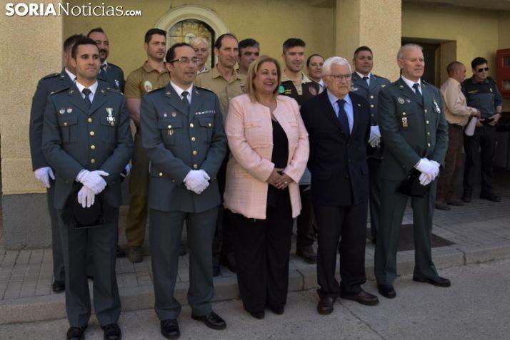 Foto 2 - La Benemérita reconoce la labor de agentes y personal civil