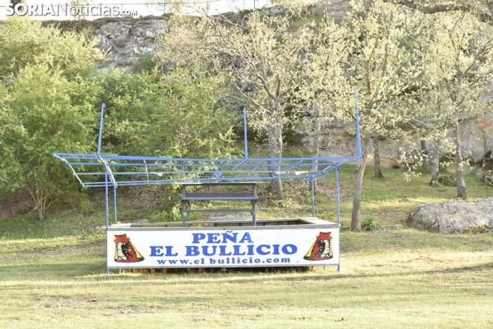Chiringuitos en Valonsadero. /EM