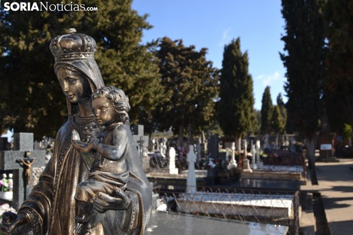 Foto 1 - Última llamada para 500 tumbas en el cementerio de Soria
