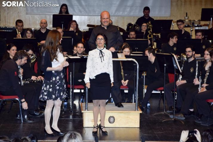 Concierto didáctico de la banda en la Audiencia /José Herrero