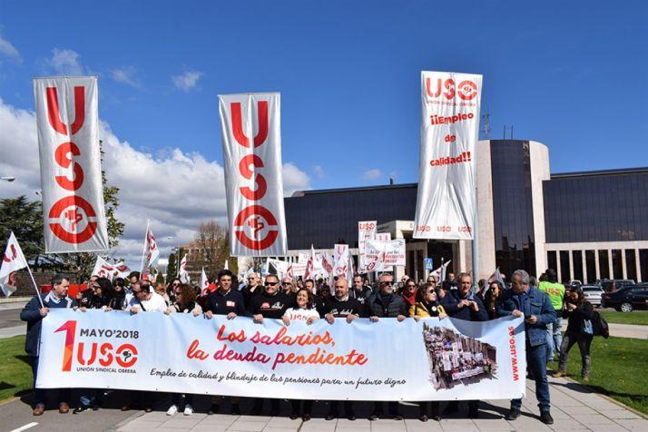 Foto 1 - USO reclama que la recuperación de la macroeconomía llegue a la micro y que se blinden las pensiones
