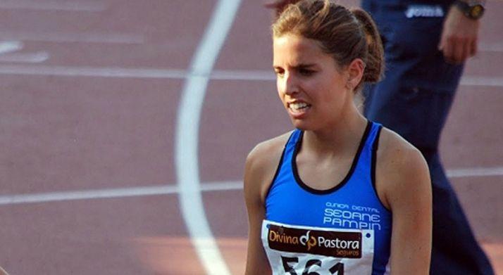 La atleta soriana en una imagen de archivo.