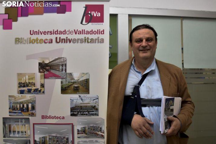 José Luis Ruiz Zapatero, este jueves en el Campus. /José Herrero