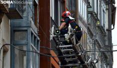 Una imagen de la intervención de los bomberos. /SN