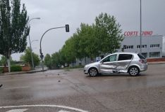 Accidente en la Avenida de Valladolid