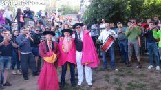 Una imagen de la mañana de este domingo en Valonsadero. /Alfredo García