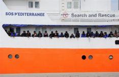 Imagen del barco Aquarius.Foto: Europa Press