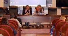 Esther Pérez, vicepresidenta de la Diputación, y Paulino Herreno, presidente de ASOPIVA.