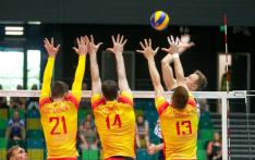 Selección española de voleibol.