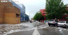 Foto 3 - Intensa granizada en la capital
