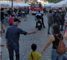 Imagen de la llegada de los bomberos al lugar del siniestro. /SN