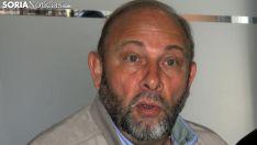 Jesús Ruiz Molina, antes de partir hacia África. /SN
