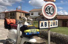 Concentración de Lambretta en Abejar