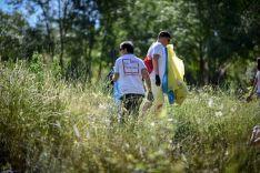 Se han liberado de basuraleza 50 espacios de Castilla y León gracias a 1.081 voluntarios