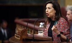 Robles, en una intervención en el Congreso de los Diputados. /EP