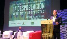 Aparicio, en su intervención en Astorga. /FOES
