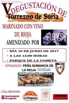Peña Numancia La Rioja, en el día de las peñas.