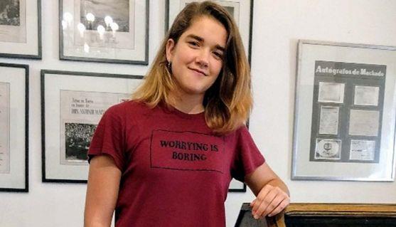 Olivia Ortega, joven estudiante del IES Machado.