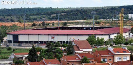 Imagen del estadio en la tarde de este miércoles. /SN