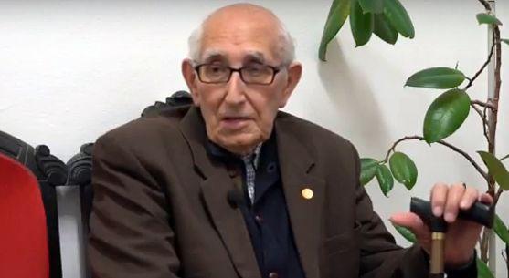 Goyo Alonso, durante la entrevista. /DOS