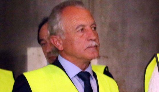 José Antonio de Miguel, alcalde de Almazán, esta mañana de lunes. /Jta.