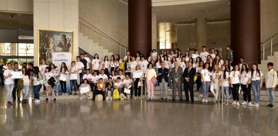 Una imagen de la entrega de premios. /Jta.