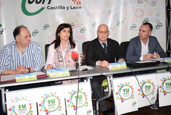 Responsables de los sectores de CSIF Castilla y León