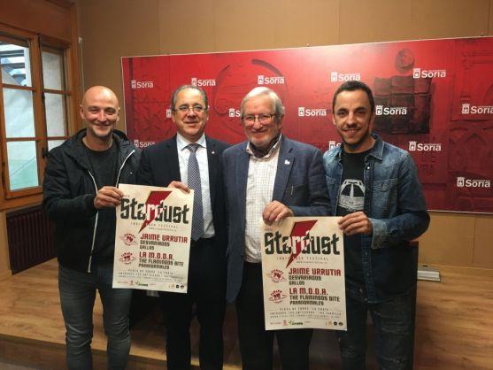 Frutos (izda.), Mugarza, Bárez y Chicote. /Ayto.