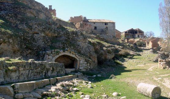 Una imagen del despoblado de Cabreriza, en la zona de Berlanga.