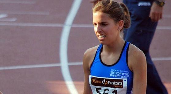 La atleta soriana, en una imagen de archivo.