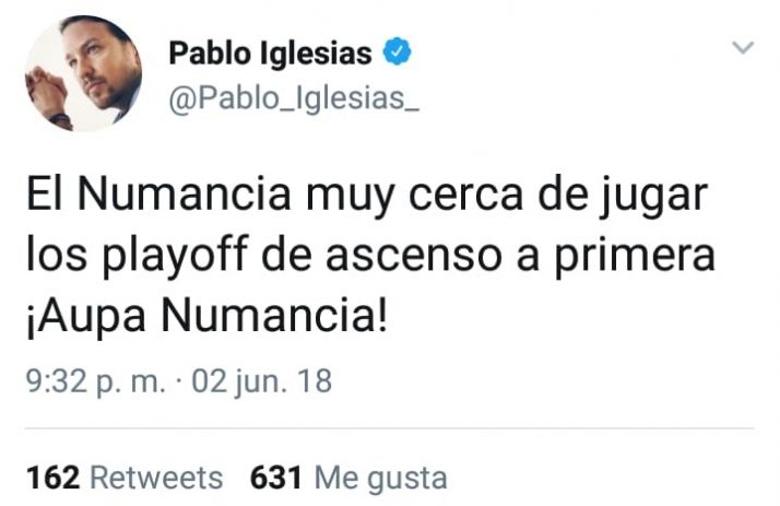 Twitter enloquece con el Numancia