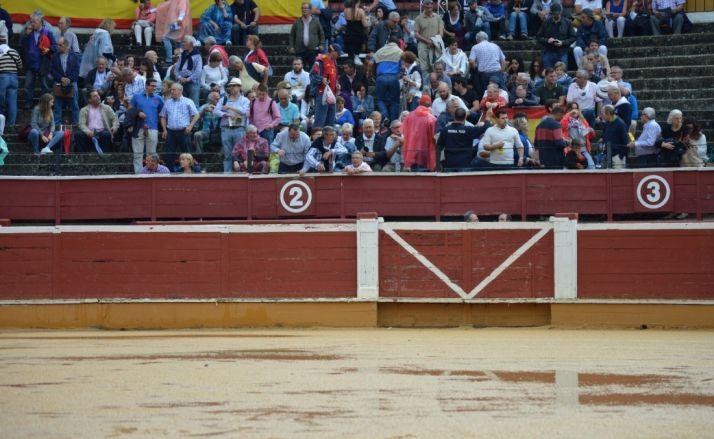 Imagen del ruedo previa a la corrida del Sábado Agés.
