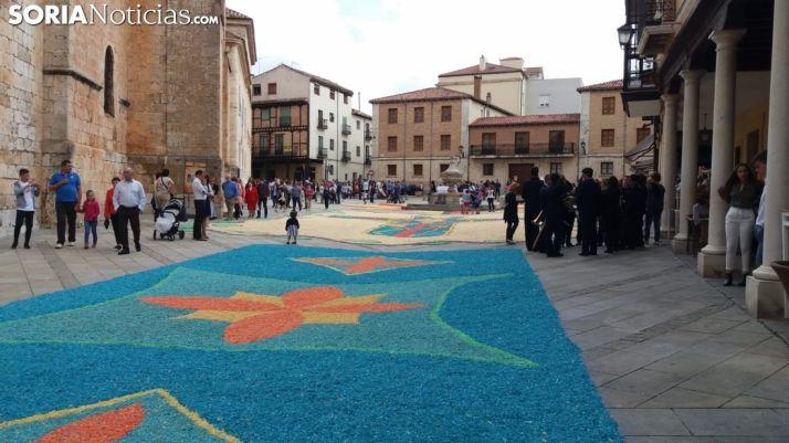 Festividad del Corpus Christi en El Burgo de Osma