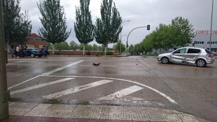 Foto 2 - Accidente en la Avenida de Valladolid