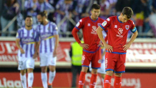 Crónica Numancia-Real Valladolid (0-3): Enjaulados dentro del virtuosismo vallisoletano