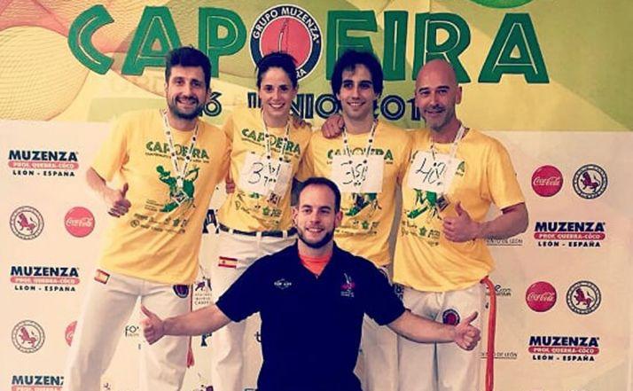 La capoeria soriana logra cuatro medallas en los regionales