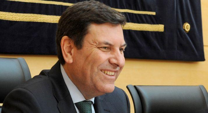 Carlos Fernández Carriedo, consejero de Empleo este jueves.