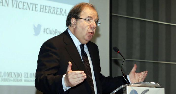 Juan Vicente Herrera, presidente de la Junta de CyL.