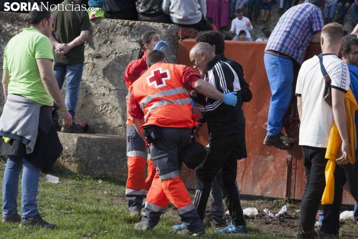 La Cruz Roja realiza unas 52 atenciones durante el Lavalenguas