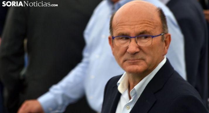 Pedro Marín, presidente de Asfoso, en un acto reciente de este junio. /SN