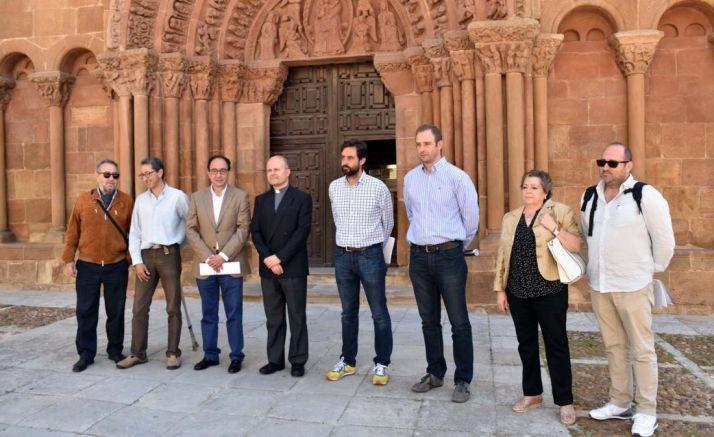 Imagen de la recepción de las obras. /Jta.