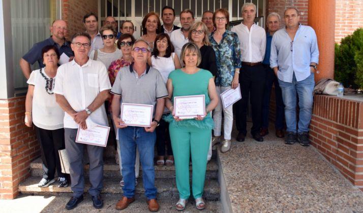 Foto 1 - La Junta rinde homenaje a los 43 docentes jubilados en Soria este curso