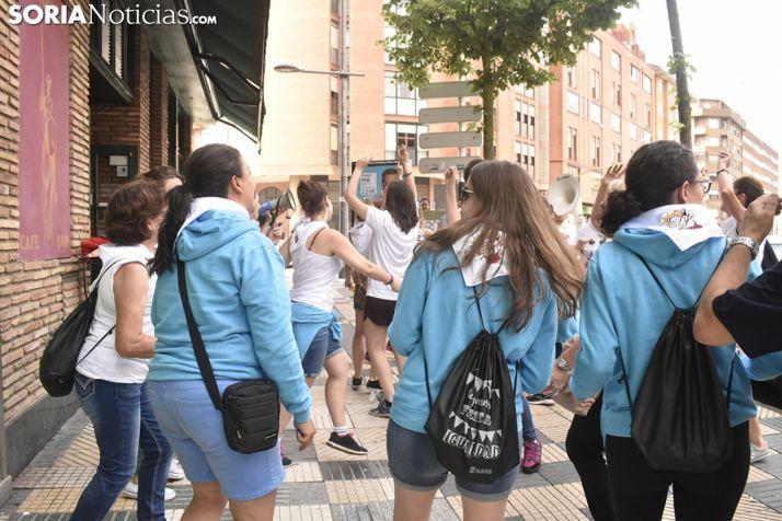 Dianas de las mujeres del Sábado Agés. /SN