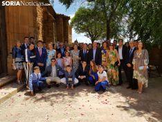 Imágenes de las bodas de oro del matrimonio Latorre-Hernández.